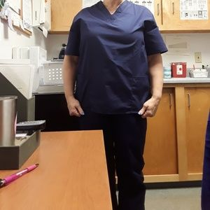 Natural Uniforms Scrubs Size Small Unisex
